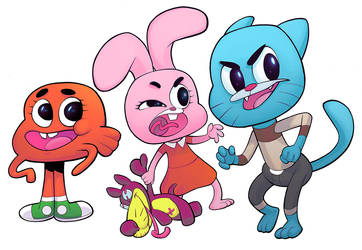 Gumball by cliff-rathburn