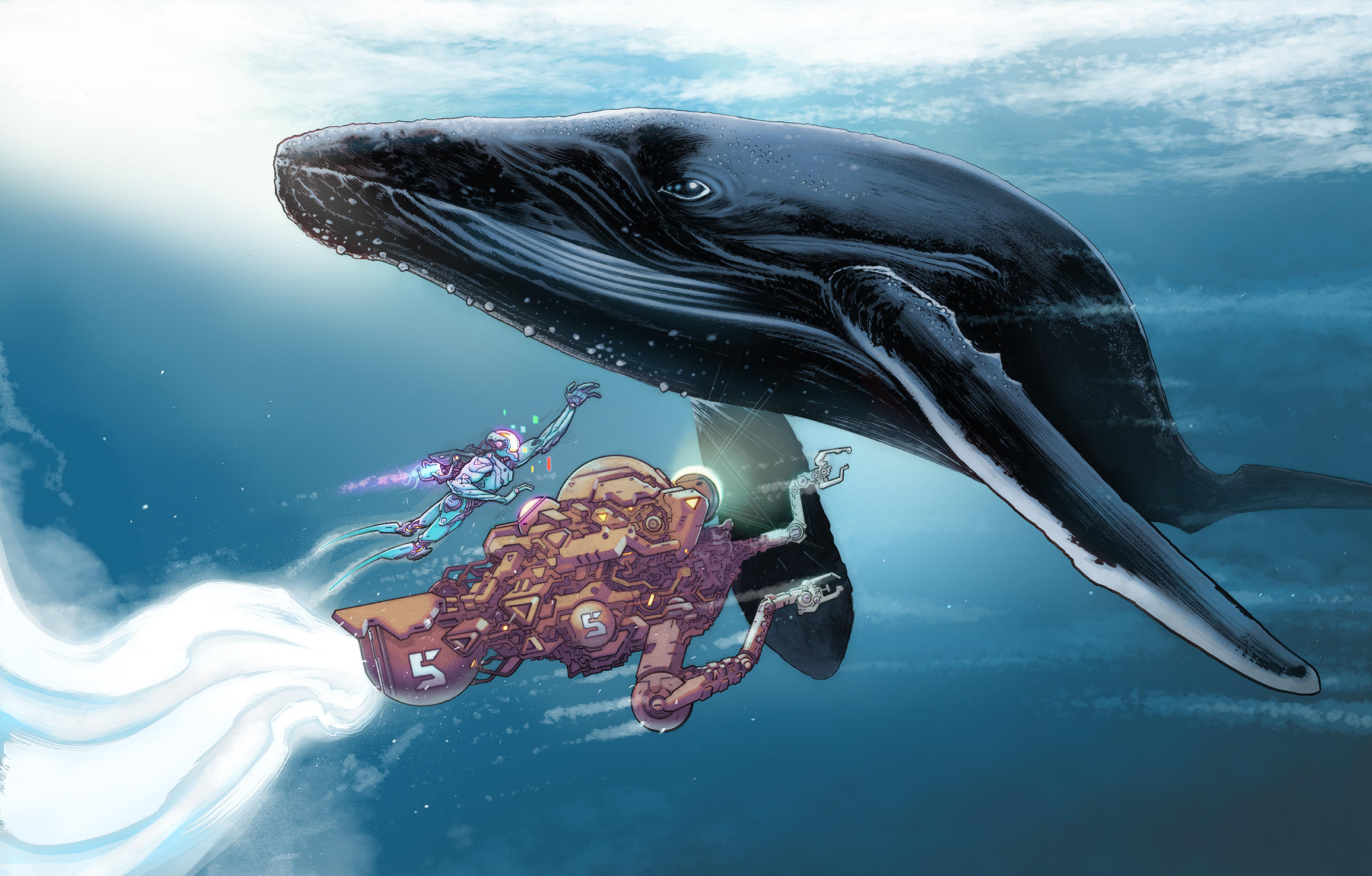 Whalebot by cliff-rathburn