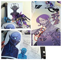 MY Art / sketchbook for sale $40.00 by cliff-rathburn