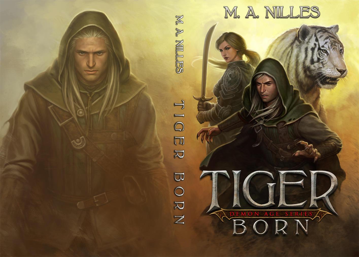 Tiger Born by PRDart