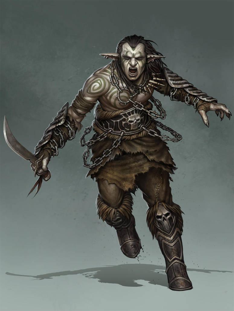 Goblin illustration for Tellest by PRDart