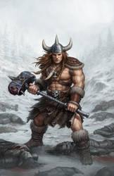 Ing the Viking by PRDart
