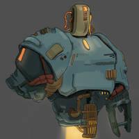 Mech robot thing by Izelbat