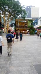 Shopping Street - Brisbane, Queensland, Australia by blueyean