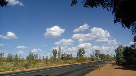 Yululu Desert, Australia by blueyean