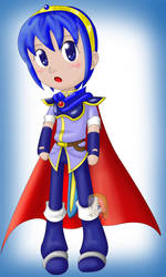 Marth - Chibified by moon-star15