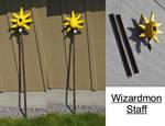 Wizardmon Staff Commission by RHatake