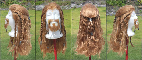 Fili Wig/Beard/Mustache Commission by RHatake