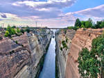 Canal de Corinthe - HDR by jb155