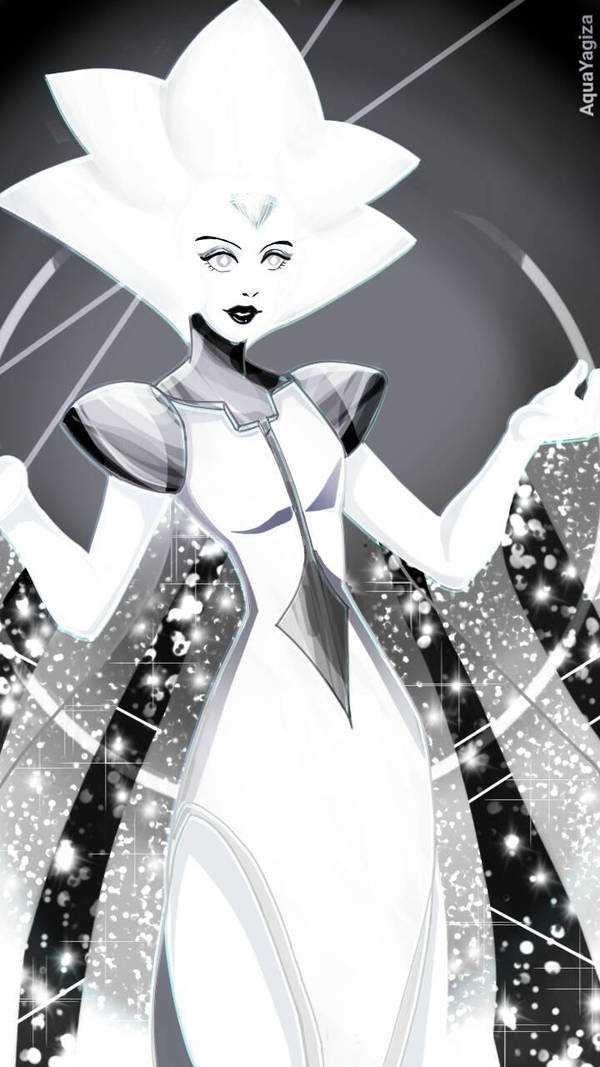 Damn she's bright! Brighter than my future XD I swear white diamond give me the creeps but still look fabulous lol Hope you guys like it! ©Cartoon Network ©Rebecca Sugar