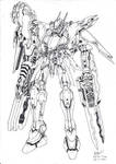 Armoured Core -My 1st Sketch- by Xeikth