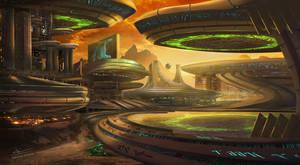Orokin Base concept by Xeikth