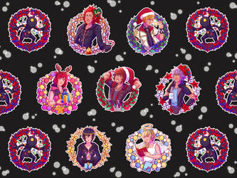 A Merry Kingdom Hearts Christmas by crimson-firelight
