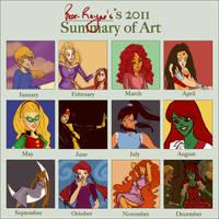 2011 Art Summary by Rose-Rayne