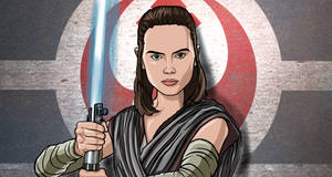 Rey Last Jedi (Star Wars Digital Art) by Frodo152