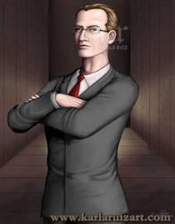 Portrait of Charles F Ofdensen by KarlaRuiz