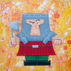 Ram Man by xanderthurteen