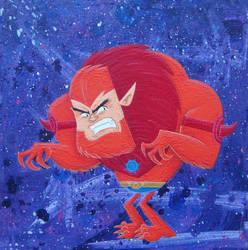 Beast Man by xanderthurteen