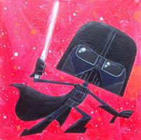 Darth Vader by xanderthurteen