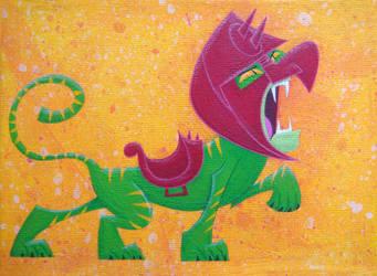 Battle Cat by xanderthurteen