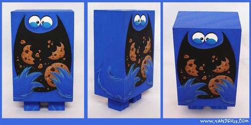 Cookie Monster by xanderthurteen