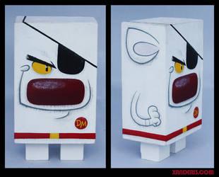 Danger Mouse Block by xanderthurteen