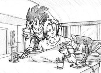 Draft Paper / sketch by Rider4Z