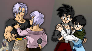 Bulma Scolds Trunks by Rider4Z