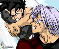 Celari vs. Trunks by Rider4Z