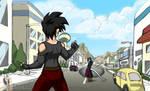 I:VI - Celari defends the city by Rider4Z