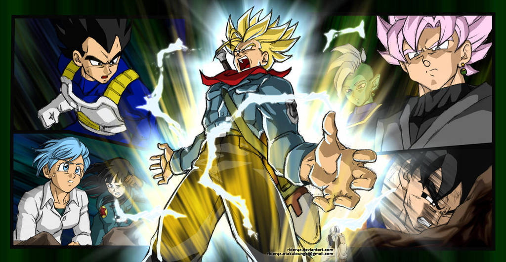 Dragonball Super - Sinner (Demi-God?) by Rider4Z