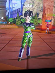 Xenoverse 2 Cell Suit by Rider4Z