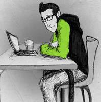 Coffee Break by DoubtingSalmon