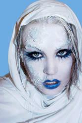 yuki no onna: Ice Demon by UrielStock