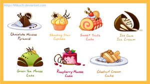 Portfolio- Desserts by Mikochi