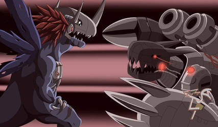 Digimon world final battle (compleate) by ginryuumaru