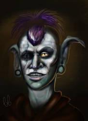 Aknishi the Orc by Dragriyu