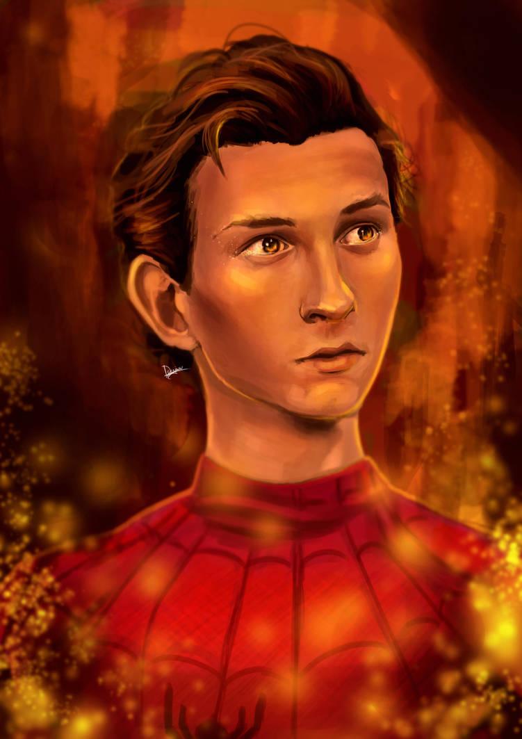 Coming home (Tom Holland | Spiderman) by Dragriyu