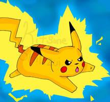 Pikachu by KitsuneShinzui