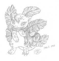 Leafysaur's OC by lossetta932