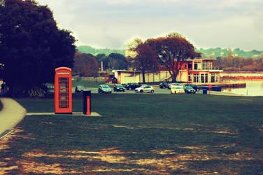 Red Phone box by mitchey93