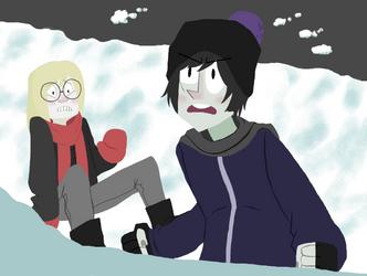 Snowfight by Emirobat
