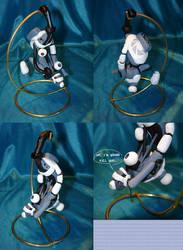Mini GLaDOS Sculpt by gryphonworks