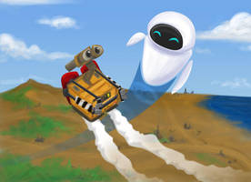 WALL-E: Fly With Me by gryphonworks
