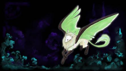 Luna Moth Gryphon by gryphonworks
