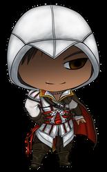 Chibi Ezio by gryphonworks