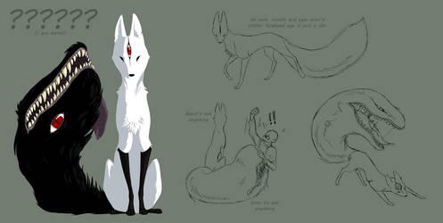 fox demon by gryphonworks
