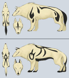 some Murr designs by gryphonworks