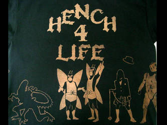 Hench 4 Life 'revisited' front by Hmiidcdkeeny