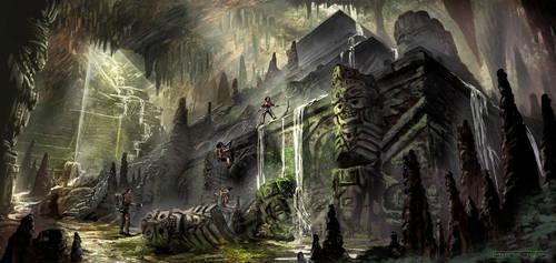 Machu Picchu Hidden Grotto by FranzowaR